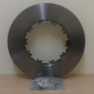 DAF CF / XF FRONT & REAR BRAKE DISC WITH FITTING KIT