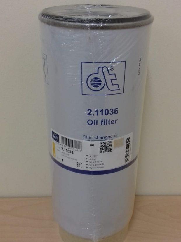 volvo dt oil bypass filter