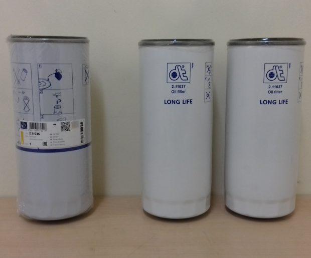 VOLVO OIL FILTER KIT (3 PCE)